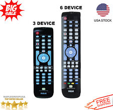 Rca 3-6 Device Universal Remote Control for All Major Brands with Backlit Keys