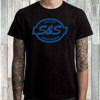 S&S Cycle Proven Performance Logo Men's Black T-Shirt Size S M L XL 2XL 3XL