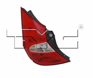 TYC NSF Left Side Tail Light Assy for Hyundai Accent Hatchback 2012-2016 Models