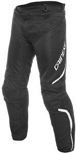 Dainese Drake Air D Dry Black White Waterproof Summer Biker Trousers