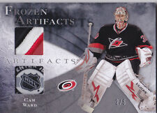 10-11 Frozen Artifacts Cam Ward /5 Patch NHL Shield Tag Hurricanes 2010