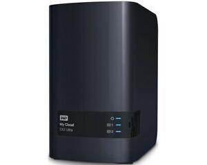 Western Digital My Cloud EX2 Ultra 4TB NAS (1x Gb LAN, 2x USB 3.0) WDBVBZ0040JCH