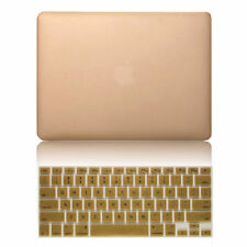 """Rubberized Hard Case+Keyboard Cover Skin for MacBook Air Pro Retina 11"""" 13"""" 15"""""""