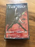 The Cult Sonic Temple Cassette Tape New Unopened Marketing Purposes BMG
