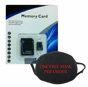 64 GB Micro SD Memory Cards Class 10 Fast Free Shipping New + Free Face Mask!