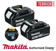 2x Makita BL1850 18V 5Ah Li-Ion Batteries 196673-6
