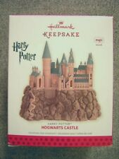 "Rare 2013 Hallmark Harry Potter ""Hogwarts Castle"" Magic Ornament; Sound"