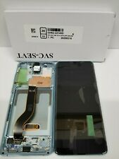 Samsung galaxy S20 Plus 5G Blue LCD Touch Screen Digitizer + Frame G986 OEM NEW