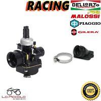 CARBURADOR DELL'ORTO PHBG 19 RACING + COLECTOR MALOSSI PIAGGIO LIBERTY 50 2T