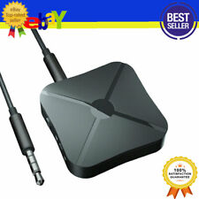 Wireless Bluetooth 5.0 Transmitter And Receiver 3.5mm AUX Audio Home Car Adapte