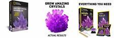 National Geographic Purple Crystal Growing Lab - Diy Creation