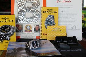 Mens Breitling Emergency 1999 Orbiter 3 Titanium Watch Limited Edition E56321