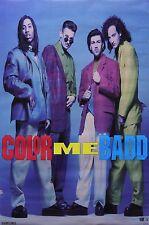 Color Me Badd 1991 Rare Original Vintage Store Poster