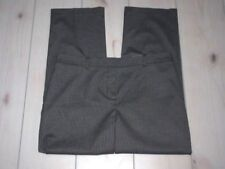 NWT NEW CHICO'S Mini Houndstooth Silver / Black Straight Pants 2 (12 14) Short