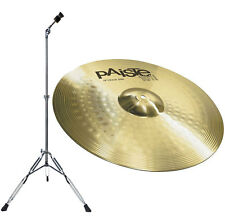 "PAISTE 101 Crash Ride 18"" + supporto pelvico appena lyd-25"