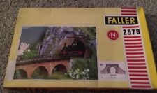 Faller 2578 Two Piece Railway Tunnel Portals Track N 9mm - UK Seller