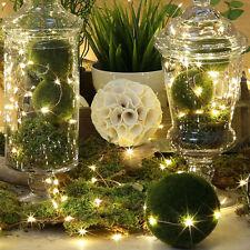 1/2m Cuerda Guirnalda de luces 20LED de pilas Navidad Luces HOGAR FIESTA/Boda