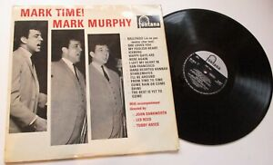 MARK MURPHY *****  MARK TIME  ******   1964 FONTANA RECORDS