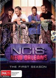 NCIS New Orleans 1 one first season series DVD R4 BRAND NEW/SEALED