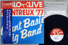 Count Basie Big Band Montreux '77 Pablo Mtf 1814 Japan Obi Vinyl Lp