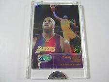 2002 eTopps Basketball Shaquille O'neal Shaq Refractor Lakers