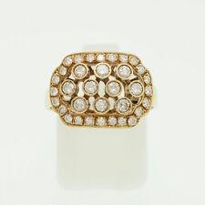 Gold Ring 585er Gelbgold 14K   Gr. 55   Brillanten 0,86ct. H/SI   UVP 3999€
