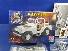 AMT ERTL The Dukes Of Hazzard Daisy's Jeep 1/25 Scale Model Kit CJ 7 Wrangler