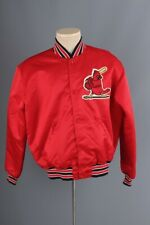 Vtg Men's 1980s St. Louis Cardinals Starter Jacket sz Large 80s Nylon Coat