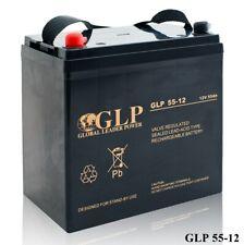 GLP AGM GEL Deep Cycle Akku VRLA 12V 55Ah zyklenfest statt 50 - 60 Ah