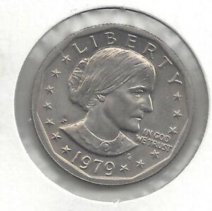 SUSAN B ANTHONY DOLLAR 1979 NEAR DATE
