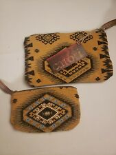"""Catori Nutopia indian Inspired small bags  zipper bags 10"""" and 7"""" new."""