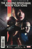 Amazing Spider-Man Renew Your Vows #1 1:15 MAOS Shield Photo Variant Marvel 2015