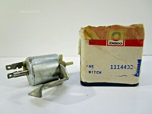 NOS GM 1970 CAMARO CORVETTE CHEVELLE TCS IDLE SOLENOID 1114432 DELCO GM SPARK