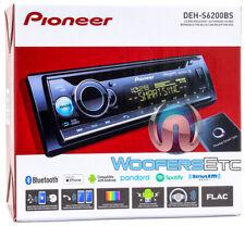 PIONEER DEH-S6200BS CD MP3 USB BLUETOOTH CAR STEREO RADIO SIRIUS XM READY NEW