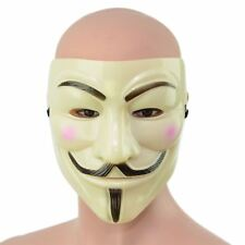 V For Vendetta Mask Face Fancy Dress Halloween Costume Accessories GUY FAWKES