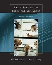 Basic Statistical Ideas for Managers (with CD-ROM), David Hildebrand, R. Lyman O