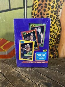 VINTAGE 1991 WCW TRADING CARDS FIGURE FACTORY SEALED INVEST NOW WWF WWE NWO NWA