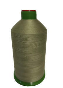STRONG BONDED NYLON THREAD 60'S, 4500MTR FREE P&P LIGHT  OLIVE  COL 591