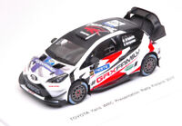 Model Car Rally Scale 1:43 Spark Model Toyota Yaris WRC Presentation N