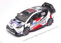 Model Car Rally Scale 1:43 Spark Model Toyota Yaris WRC Presentation N