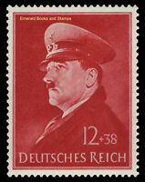 EBS Germany 1941 Hitler's 52nd Birthday - Geburtstag Hitlers - Michel 772 MNH**