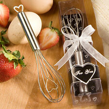25 Heart Wire Whisk Favor Wedding Party Bridal Shower Event Bulk Lot