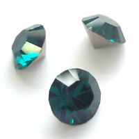 Swarovski 1028 Xilion Chaton Pointed Foiled Back All Colours & Sizes
