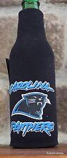 North Carolina Panthers Koozie Nfl Football League Licensed bottle Cooler Coolie