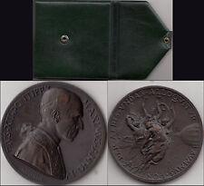 Vaticano Papa Pio XII medaglia anno IV OTTIMA CONSERVAZIONE FDC + ASTUCCIO VERDE