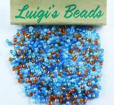 11/0 Miyuki Delica Glass Seed Beads DB2068- Luminous River & Pebble Mix 5g