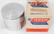 NOS Genuine Yamaha RT1 RT1 MX 360 1971 Piston 1st oversize OEM 284-11635-00 NEW