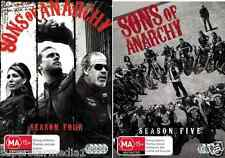Sons Of Anarchy Seasons 4 & 5 : NEW DVD