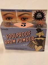 Benefit Foolproof Brow Powder Light No. 5 - Full Size