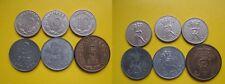 6 Münzen Dänemark